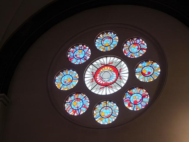 Stained-glass Window, Window, Church, Glass