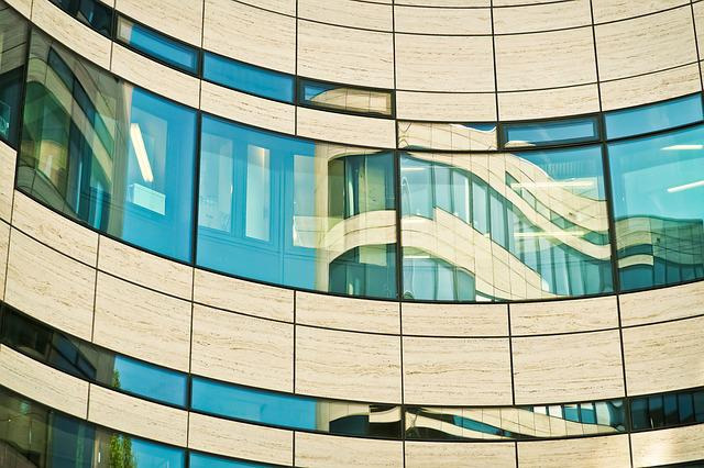 Architecture, Mirroring, Modern, Glass, Building, City