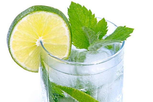 Cold Drink, Lime, Drink, Cocktail, White, Glass