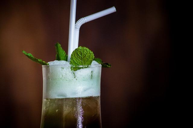 Mint Margarita, Drink, Cold, Beverage, Cocktail, Glass