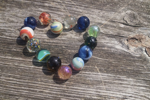 Marbles, Glaskugeln, Heart, Colorful, About, Glass