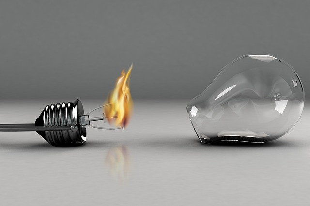 Incandescent Lamp, Power, Glass, Electricity