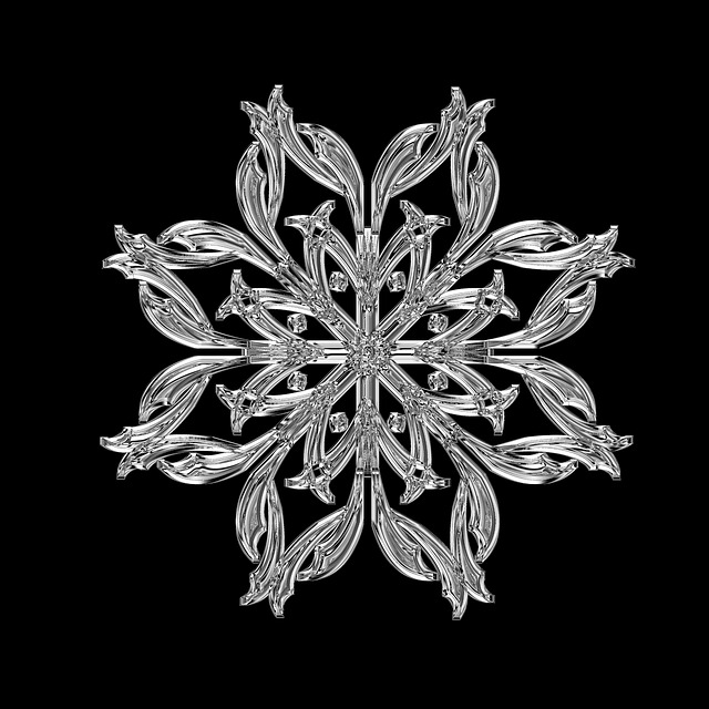 Ice Crystal, Ice, Form, Frost, Fabric, Grid, Glass