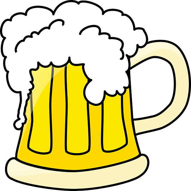Beer, Mug, Full, Frothing, Drink, Glass, Booze