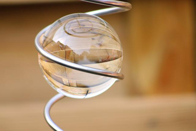 Glass, Bol, Decoration, Garden, Glass Ball