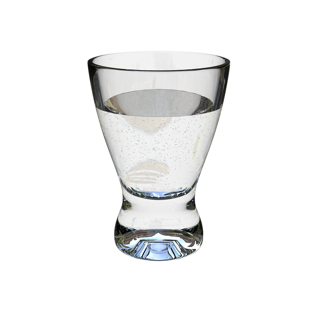 A Glass Of Water, Transparent, Glass Glass