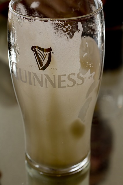 Beer, Fresh, Completed, Glass, Foam, Guinness