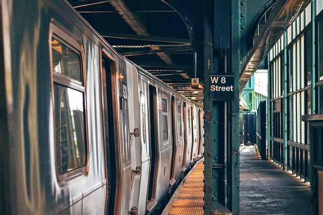 Empty, Glass, Indoors, Metro, Platform