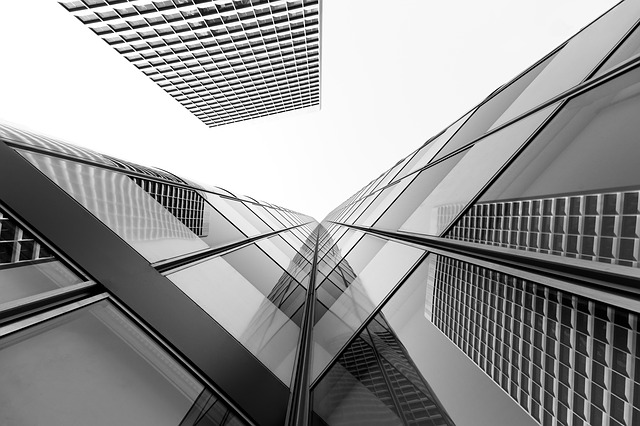 Modern, Architecture, Business, Glass Items, Office