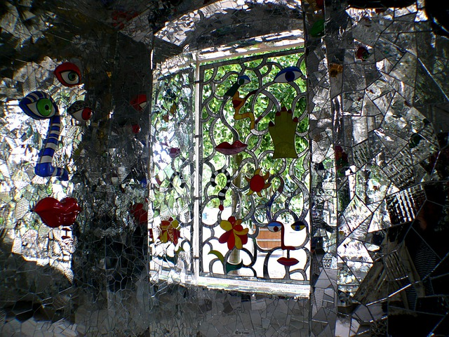 Window, Glass, Colorful, Mosaic, Glass Mosaic