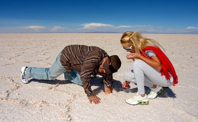 Extract, Glass, Salar Uyuni, Salt, Model, Salt Lake