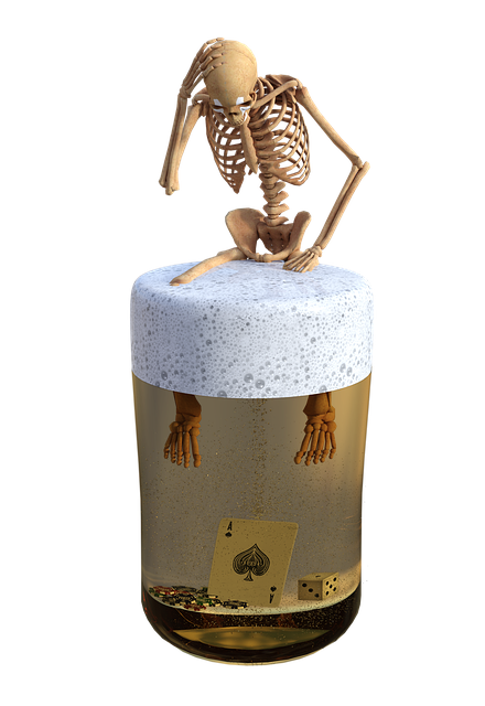 Skeleton, Glass, Addiction, Addicted, Cube, Map