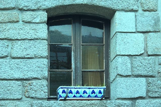 Wall, Brick, House, Architecture, Window, Glass