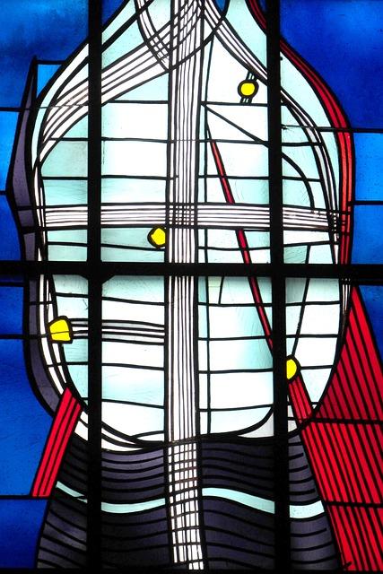 Kiliansdom, Würzburg, Church Window, Glass Window