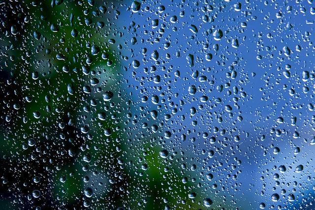 Raindrop, Glass, Window, Wet, Window Glass