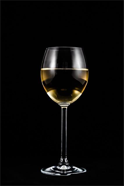 A Glass Of Wine, Wine, Alcohol, Glass, Wedding