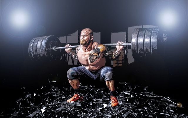 Glasses, Muscle, Man, Weights, Gymnastics, Breakage
