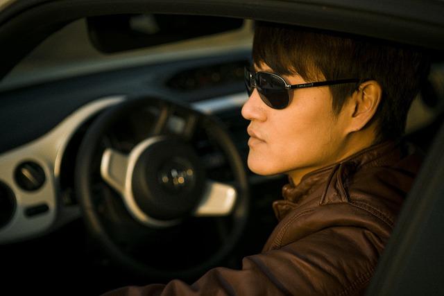 Drive, People, Man, Model, Glasses, Creative Shooting