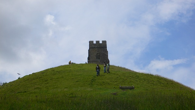 Glastonbury Tower, Glastonbury Tor, England