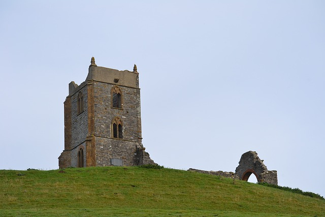 Burrow Mump, Somerset, Glastonbury Tor, Landmark