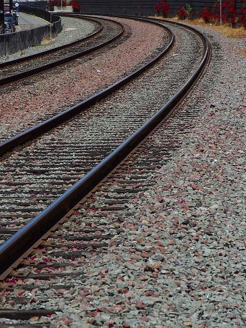 Gleise, Seemed, Train, Away, Target, Rail Traffic