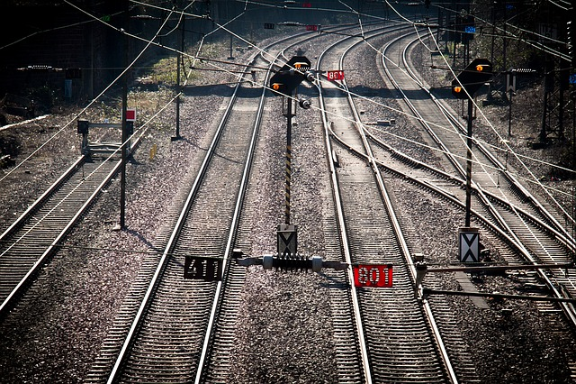 Trier, Railway Station, Train, Railway Tracks, Gleise