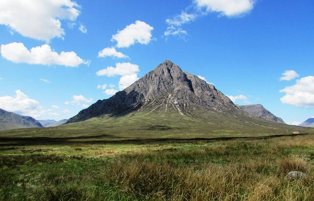 Scotland, Scottish Mountain, Glencoe, Scenic, Landscape