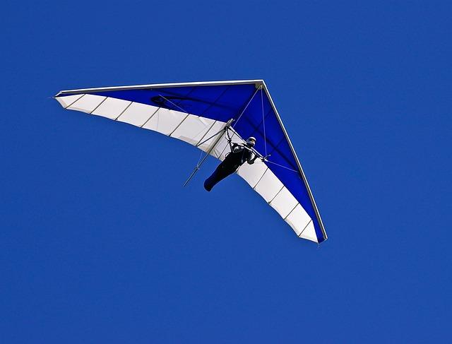 Glider, Hang-glider, Pilot, Flying, Gliding