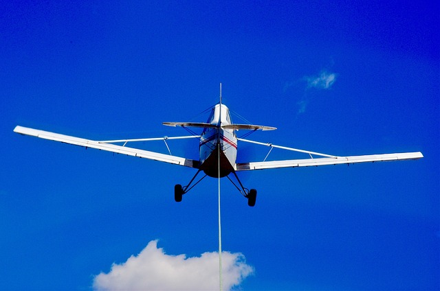Tow, Airplane, Gliding, Aviation, Pull, Airborne