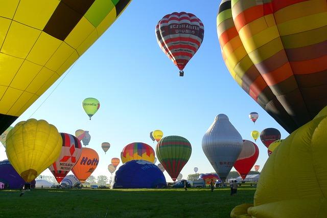 Hot-air Ballooning, Metz, Global Air Balloon, Balloons