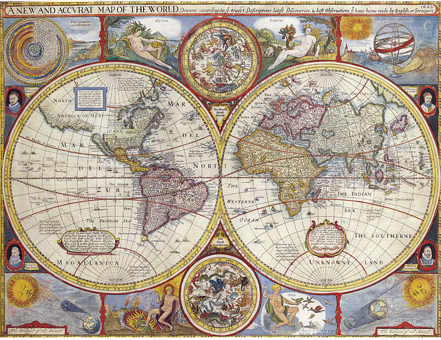 Map, Atlas, Geography, Earth, Travel, World, Global