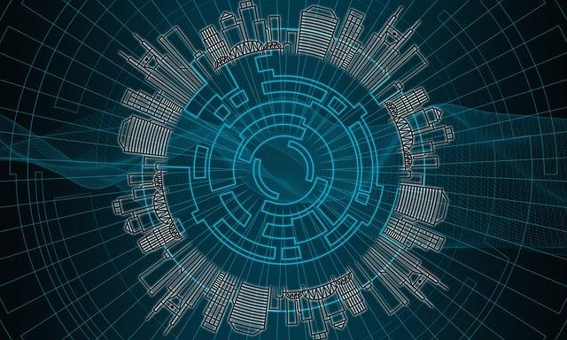 Technology, City, Globalisation, Digital, Internet