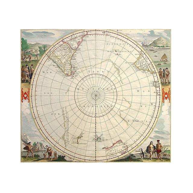 Map, Poles, Pole, Travel, Global, World, Globe
