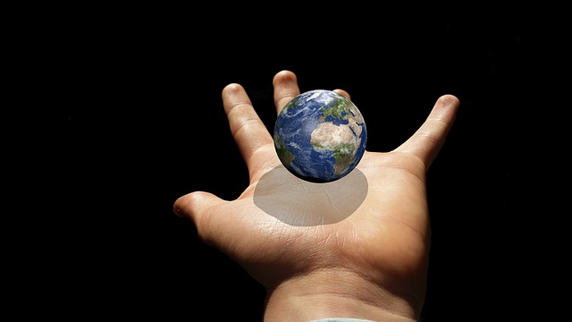 Globe, Earth, Planet, Hand, Keep