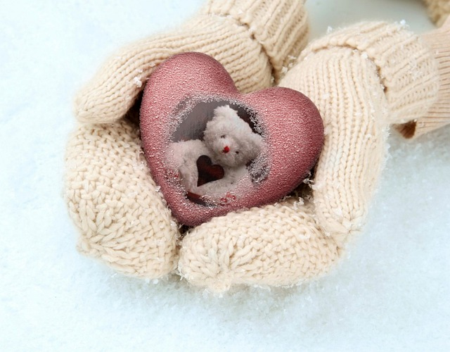 Wool, Gloves, The Softness Of, Weave, Snow, Frost