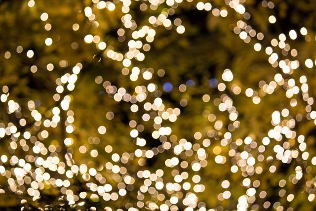 Lights, Holiday, Bright, Glow, Celebrate, Design
