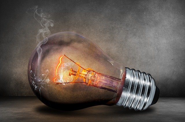 Light Bulb, Current, Light, Glow, Glow Lamp, Filament