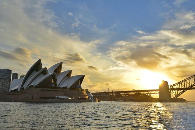Glow, Opera House, Australia