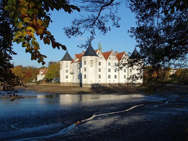 Glücksburg, Castle, Mecklenburg, Places Of Interest