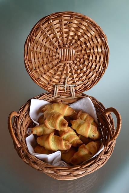 Mini Croissants, Nutella, Taste, Gluttony, Home Made