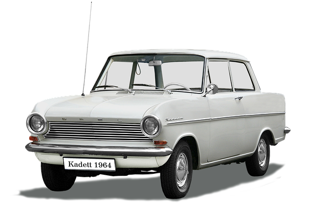 Opel, Type Kadett-a, Isolated, And Edited, Gm, Oldtimer