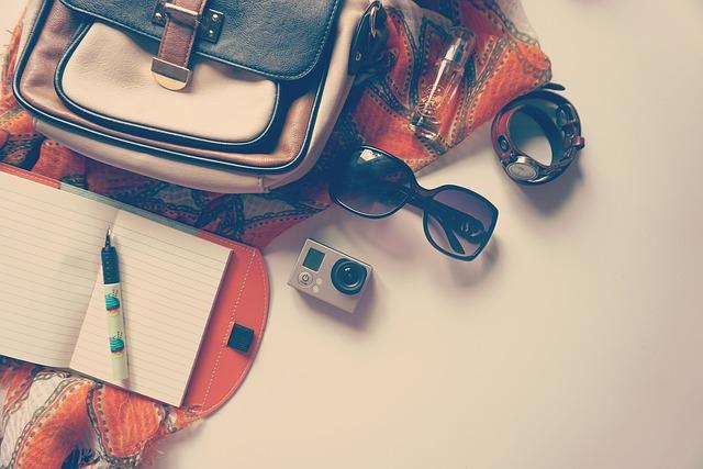 Go Pro, Pen, Notepad, Travel, Vacation, Diary, Mockup