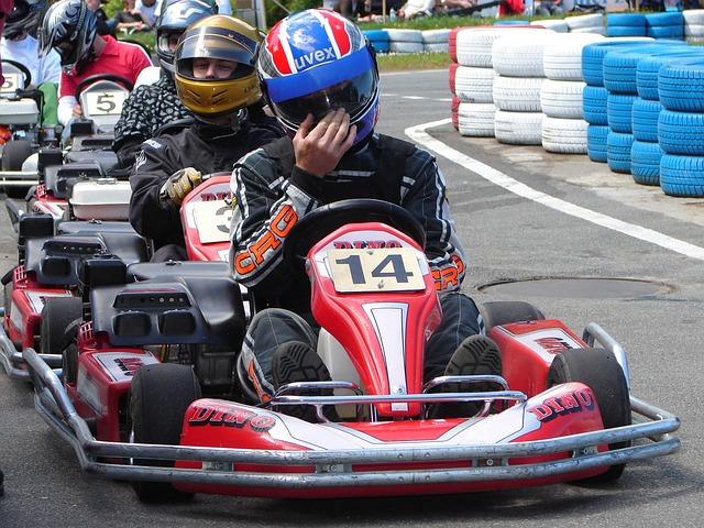 Go-kart, Go Kart Track, Rügen, Mountains, Race, Fun