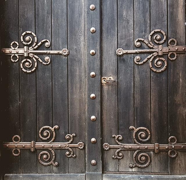 Door, Goal, Portal, Wooden Door, Wood, Input