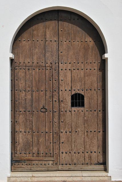 Door, Goal, Wooden Door, Input, Gate, House Entrance