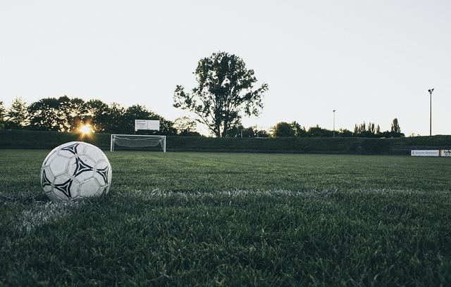 Football, Ball, Sports Ground, Goal, Kick-off, Leather