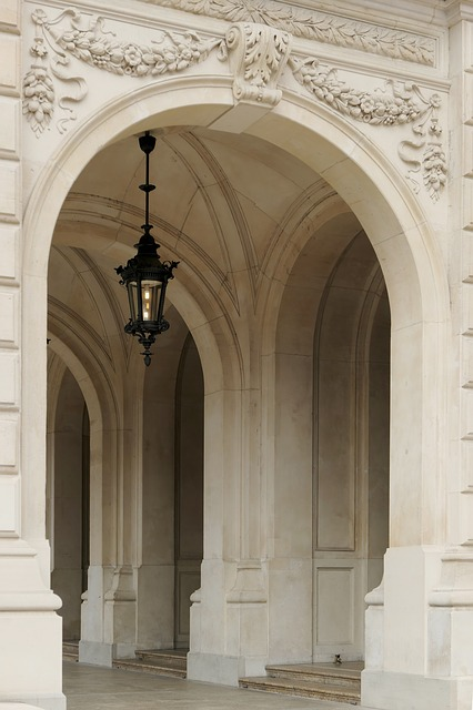 Goal, Archway, Lamp, Light, Input, Arch, Architecture