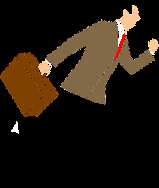 Man, Run, Work, Business, Target, Goals, Employee