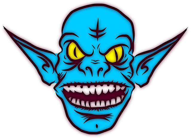 Troll, Ugly, Monster, Alien, Ears, Goblin, Grin, Mean