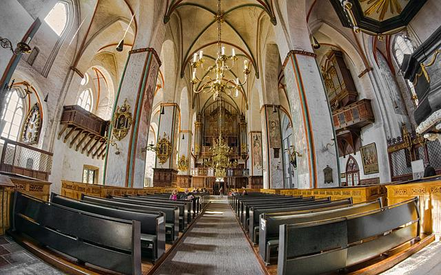 Church, Lübeck, God, Place Of Worship, Faith, Pray